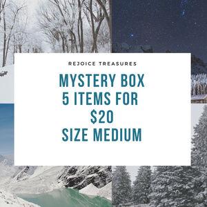 Mystery Boxes 5 items Size Medium